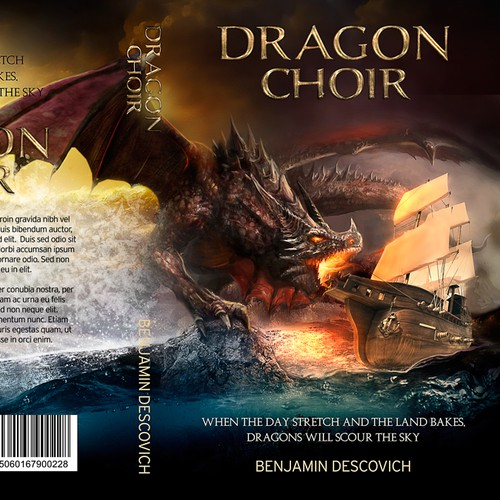 Book cover for Epic Fantasy - Dragon Choir