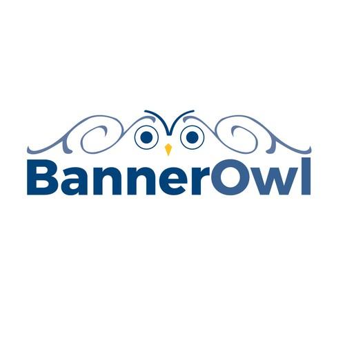 BannerOwl logo design
