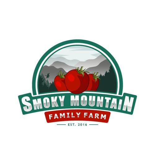 Smoky Mountain Family Farm logo