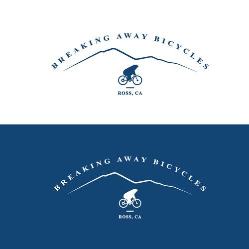 A mature bike shop logo