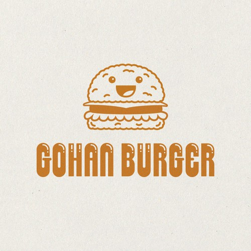 Mascot Character for Gohan Burger