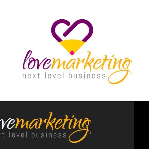 logo for love marketing