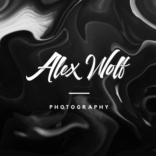 Rich and Edgy Lettered Logo-Type for Photographer