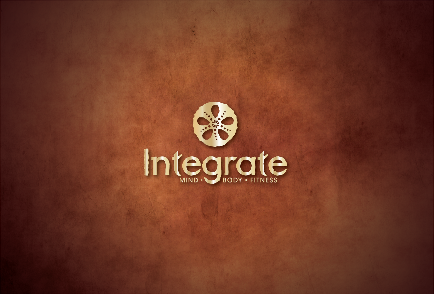 New logo for : Integrate... Mind Body Fitness  a functional training Gym/spa/wellness center