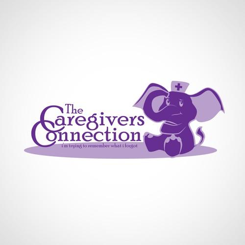 An elephant never forgets, Alzheimer's blogger needs a logo