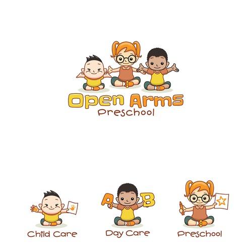 Open Arms Preschool Logo