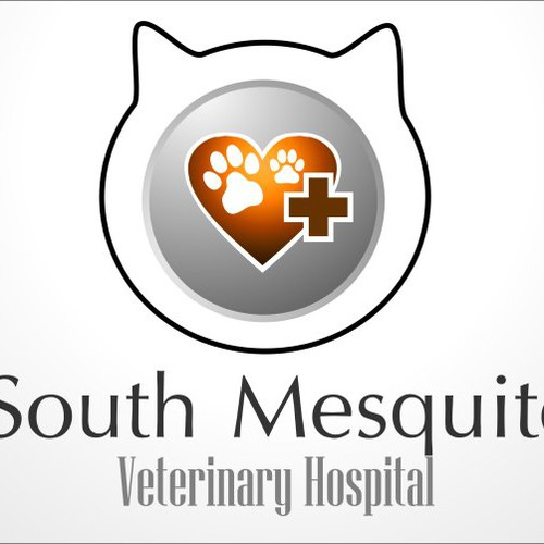 Create the next logo for South Mesquite Veterinary Hospital