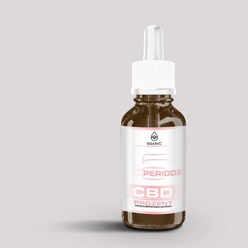 cbd oil packaging/ lebel