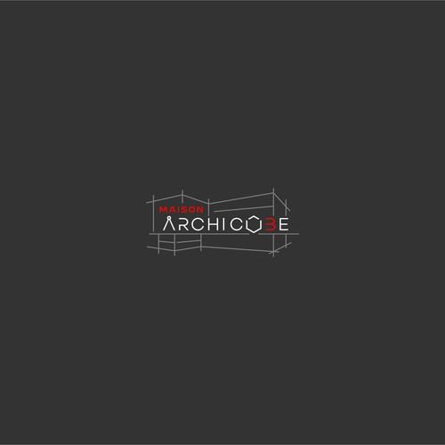 Maison Archi Cube Logo