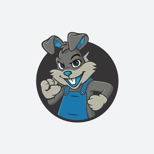 New Company Logo wanted - Blue Rabbit looks for an Image