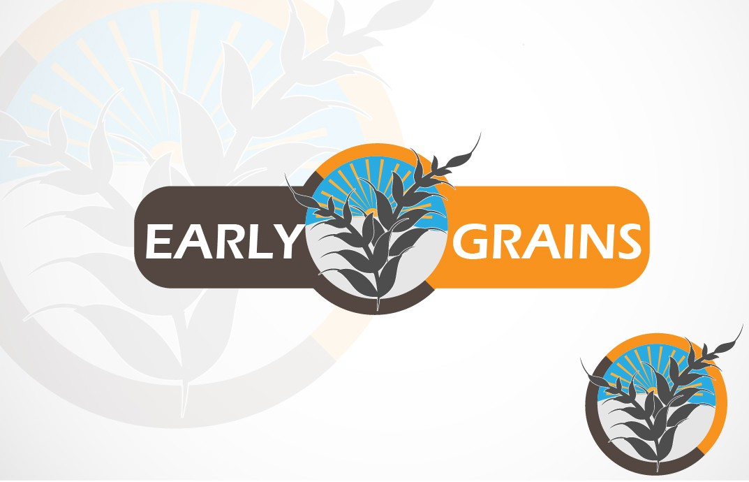 Create the next logo for Early Grains, LLC