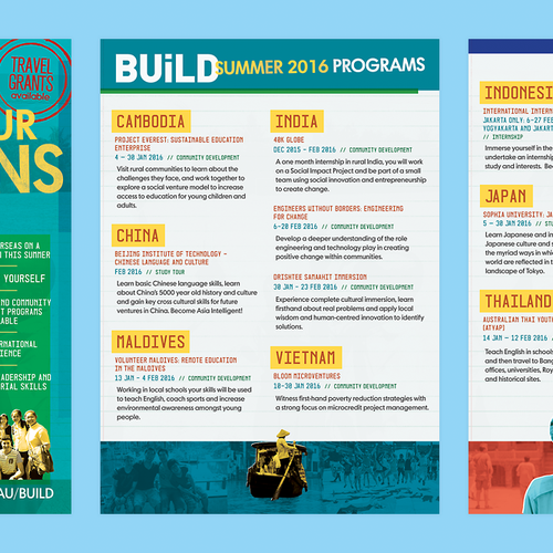 UTS 2016 Summer Programs Brochure