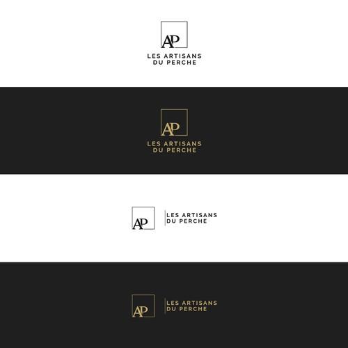 Concept de logo Les Artisans du Perche