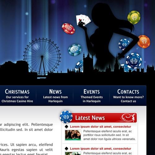 FUN CASINO Website needs a beautiful, modern design.