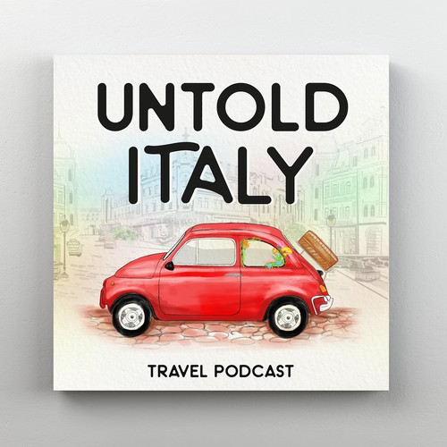 Vintage Italian Car Podcast Artwork
