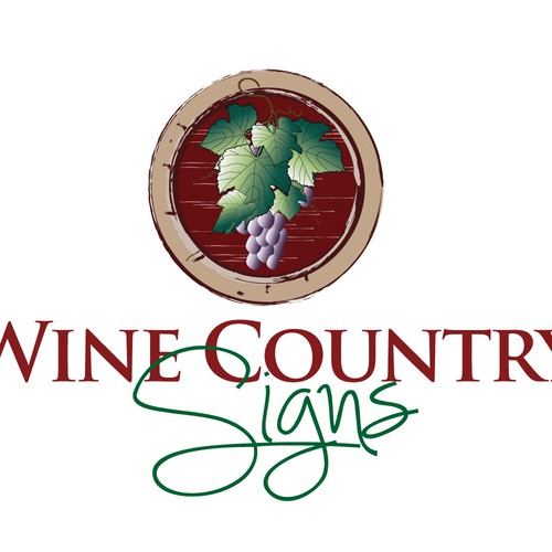 Wine Country Signs logo