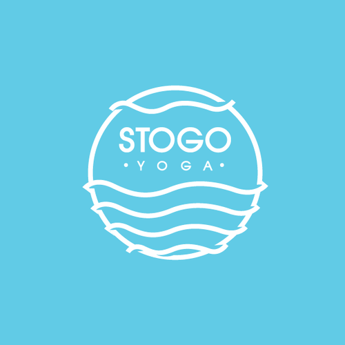 Clean and Neat logo For a Yoga Institue