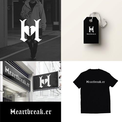 Heartbreak logo concept