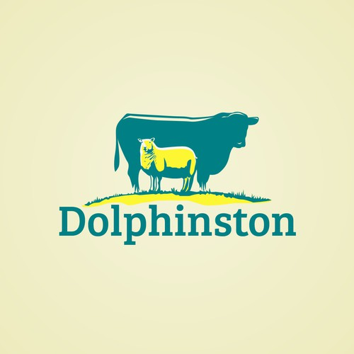Cow and Sheep Logo
