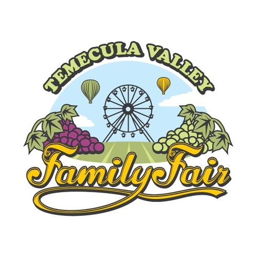 Logo for family fair