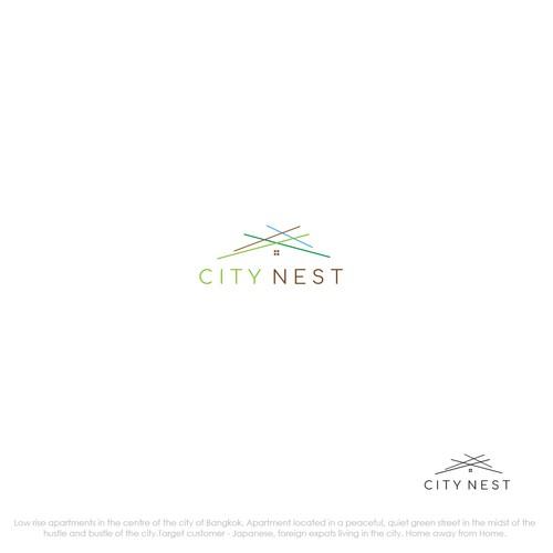Minimalist Logo Design for CITY NEST
