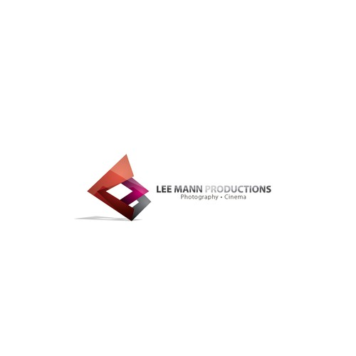 Lee Mann Productions Photography and Cinema Logo Design