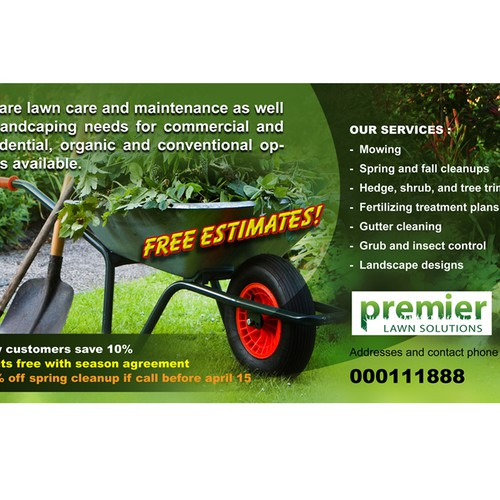 Lawn Care Banner