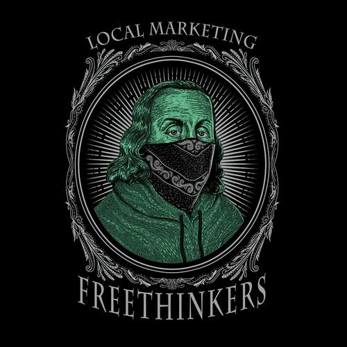 Tshirt Local Marketing Freethinkers
