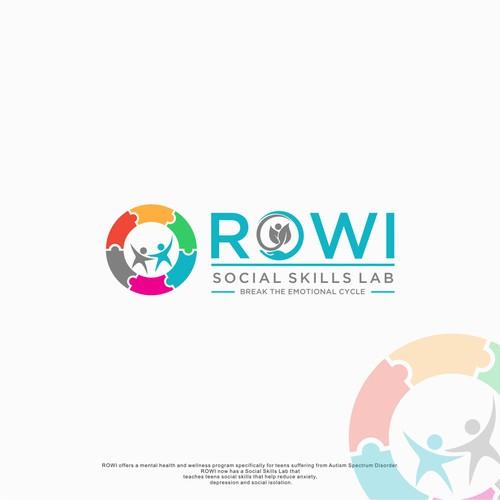 fun logo concept for ROWI