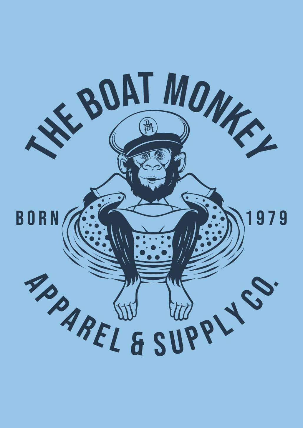 The Boat Monkey T-Shirt
