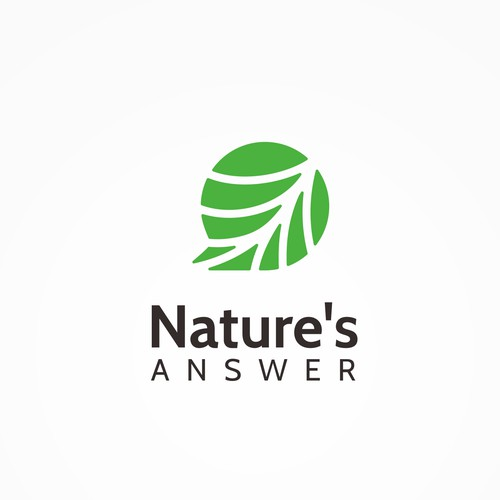 Logo Design for Nature's Answer