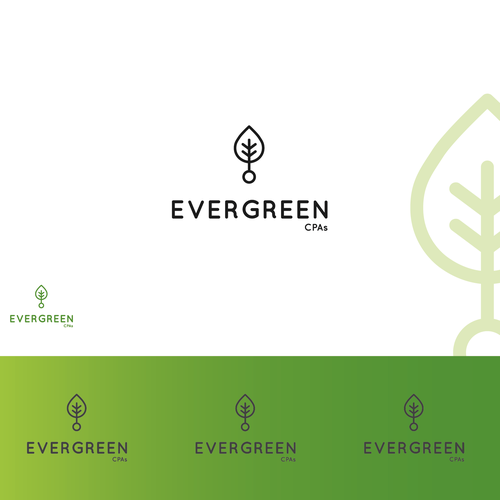 Logo for Evergreen CPAs