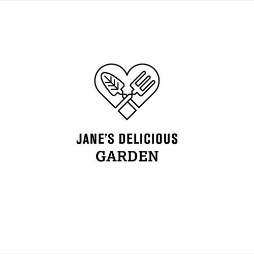 Jane's Delicious Garden logo