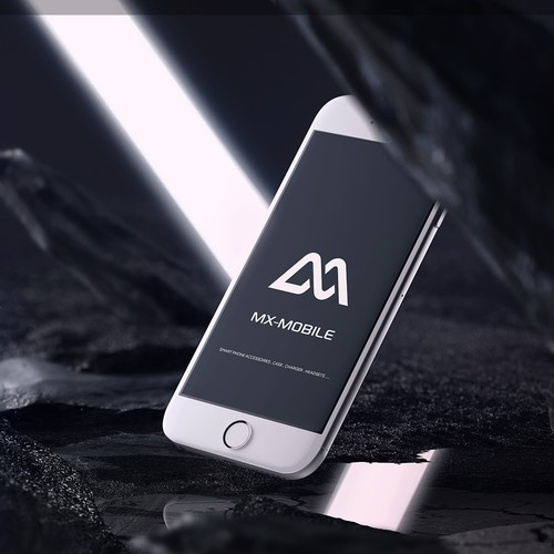 Modern and stylish logo concept for Smart Phone Accessoires company