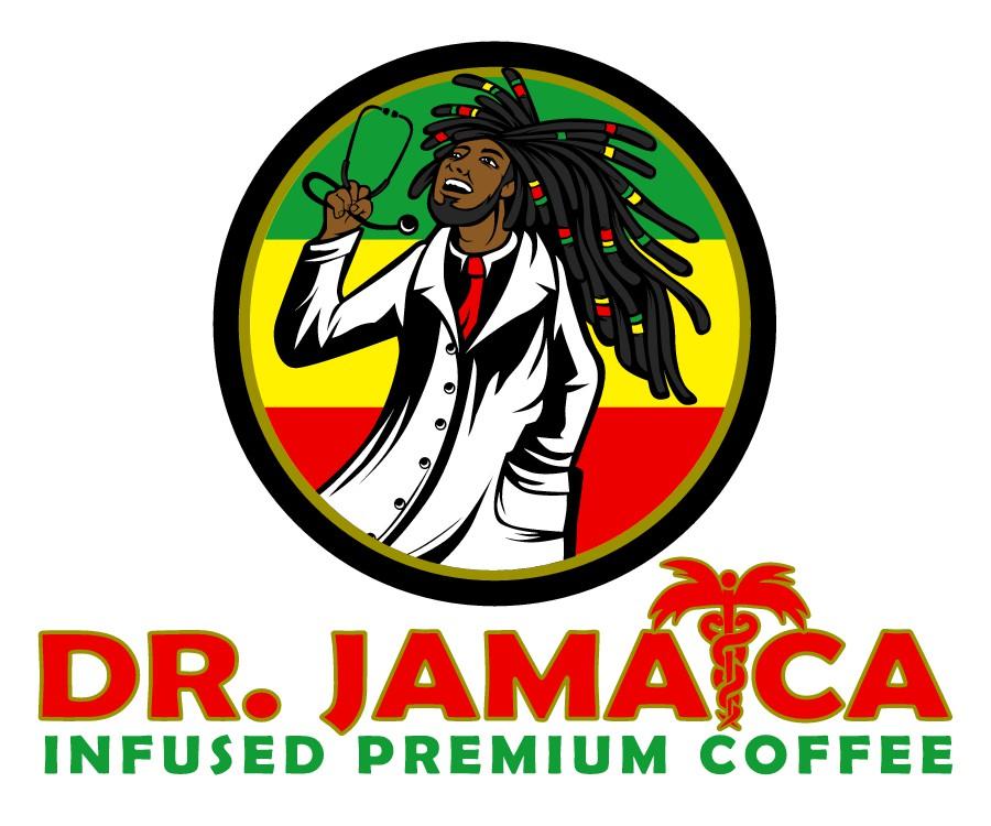 Dr. Jamaica -- a very special coffee needs a very special logo