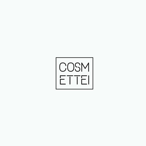 Hipster cosmetic logo