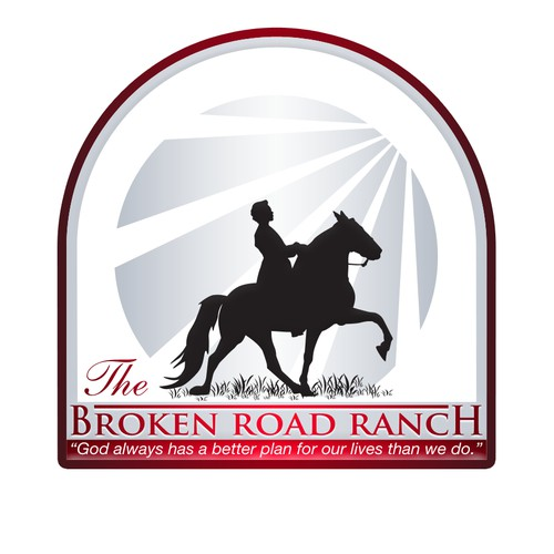 The Broken Road Ranch Logo