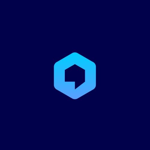 chat + hexagon