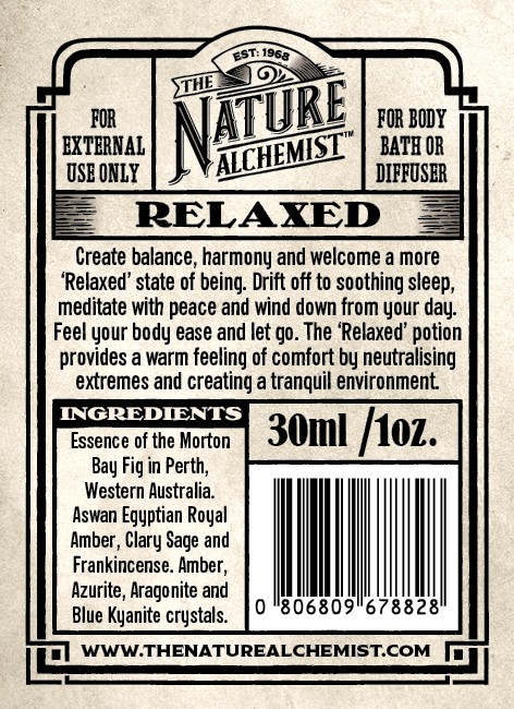 The Nature Alchemist - Potion Bottle Labels and Branding