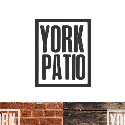 Create the next logo for York Patio