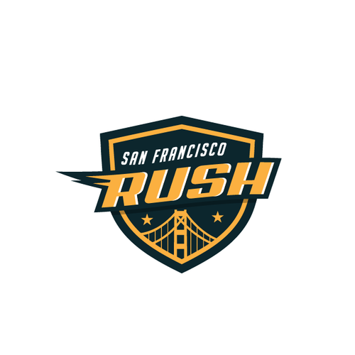 Logo for san francisco rush