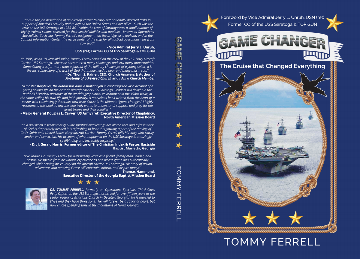 """Game Changers"" Book Cover Design"