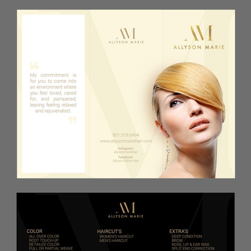 Luxurious Minimalist Brochure Design