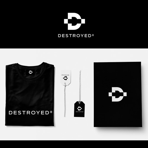 Corporate-Design: Destroyed
