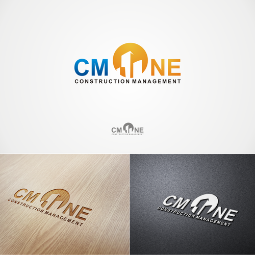 CM ONE CONSTRUCTION MANAGEMENT needs a new logo