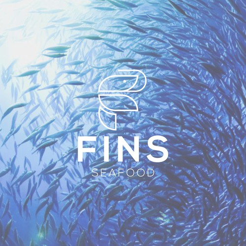Design a logo for a modern/casual seafood resturant (FINS)