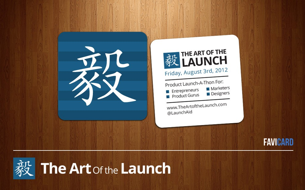 design for The Art of the Launch