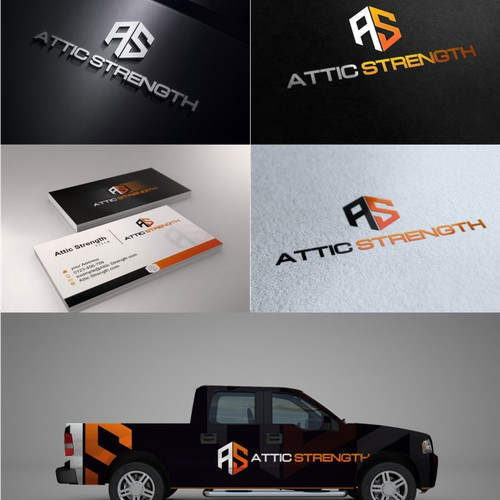 Create a unique logo for the Attic Strength