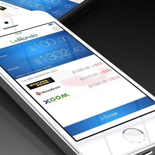 Remittance app for Mexican immigrants