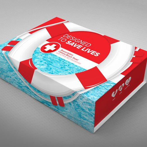 Towel Packaging  Box Design